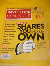 INVESTORS CHRONICLE - WEALTH AWARDS - MAY 27 2011