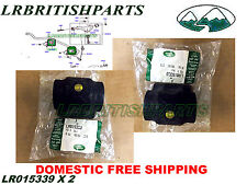 GENUINE LAND ROVER BUSHING FRONT STABILIZER BAR SWAY BAR LR3 SET 2 NEW LR015339