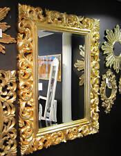 Miroir mural De Couloir 120x90 baroque or Spiegel- ornament- moderne ancien