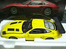 Ferrari 575 GTC 575gtc amarillo Yellow racing Kyosho 1:18