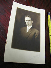 ELLSWORTH  BRADBURY  SEPIA   PHOTO  SIGNED  1911 VINTAGE  ORIGINAL