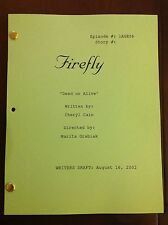 "FIREFLY TV Series Script ""DEAD OR ALIVE"" Unaired EPISODE NATHAN FILLION 8/16/02"