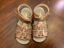 Toddler See Kai Run Hadley Rose Gold Sandal 9T