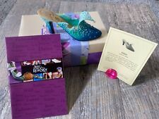 Just the Right Shoe by Raine The Wave 25060 Miniature 1999 Coa Box
