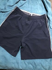 Under Armour Mens Navy Shorts XL