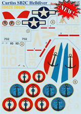 Print Scale Decals 1/48 Curtiss SB2C Helldiver Complete Set # 48137