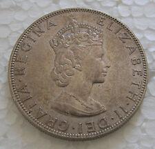 1964 Bermuda Crown Silver KM#14
