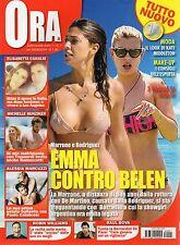Ora 2014 1.Belen Rodriguez & Emma Marrone,Federica Fontana,Michelle Hunziker