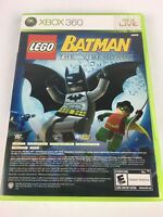 Lego Batman / Pure - Microsoft Xbox 360 complete and tested