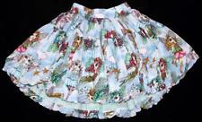 PAPER WINGS Boutique Girls Fairy Print Bubble Hem Skirt ~ Tween Size 12 NWOT kt