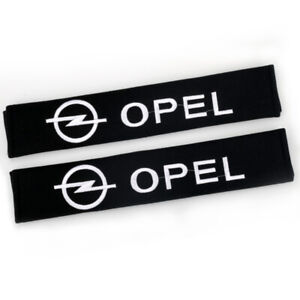33cm Cotton Car Seat Belt Cover Shoulder Pads Protect Safety Cushion for OPEL