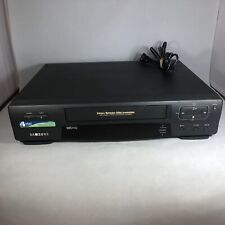 New listing Samsung Vr5606 4 Head Vcr Vhs Player/Recorder No Remote -Tested Working