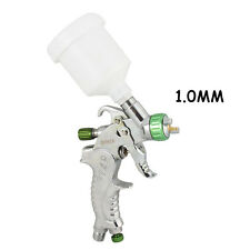 OPHIR 1.0mm HVLP Spary Gun with Plastic Cup for Base coat Aut Car Spot Repair
