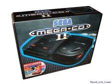 ## SEGA Mega-CD 2 Konsole in Originalverpackung mit Spiel (ohne Pappeinlage) ##