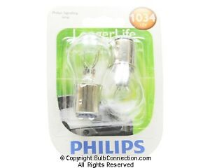 NEW Philips BC9598 1034 Long Life Automotive 2-Pack 1034LLB2 Bulb