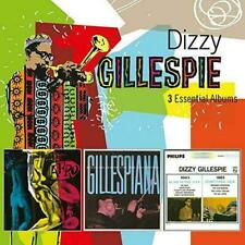 3 Essential Albums Dizzy Gillespie Audio CD & Fast Delivery