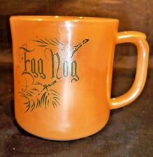 Fire King Peach Luster Egg Nog Cup or Mug  Anchor Hocking