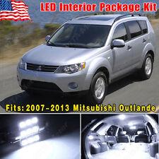 12PCS Super White LED Lights Interior Package for 2007-2013 Mitsubishi Outlander