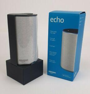 Amazon Echo Smart Home Speaker - Alexa - 2nd Gen New in Box Heather Grey NIB