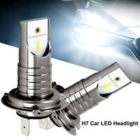 2X H7 LED 110W 6000K anti erreur Ampoule Voiture Feux Phare Lampe Xénon Blanc PA