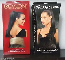 18 Inches, Clip-In Ponytail, Straight, Synthetic Hair Piece -Revlon /TressAllure