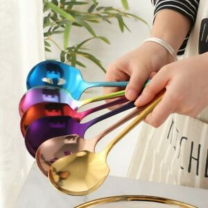 Household Public Serving  Spoon  Home Kitchen Tableware Set Stainless Steel-