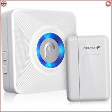 Fosmon [WaveLink] Wireless Door Open Sensor Alarm Chime Operating Range - | 52 |