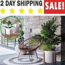 Metal Plant Stand Mid Modern Iron Pot Flowert Display Holder Rack Indoor Outdoor