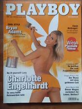 PLAYBOY 10 - 2005 Charlotte Engelhardt Bryan Adams Ewan McGregor Aston Martin