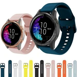 For Various Garmin SmartWatches  Silicone Fitness Wrist Band Strap