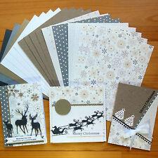 """SNOW PRINCESS"" CHRISTMAS DESIGNER CARD & PAPER PACK DIY CARDMAKING 20 SHTS A5"