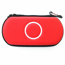 Red Hard Case Protective Carry Cover Bag Pouch For Sony PSP 1000 2000 3000