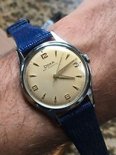 1950s Vintage Doxa Mens Dress Watch 34,9mm case