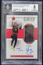 2018 TRAE YOUNG NATIONAL TREASURES CLUTCH FACTOR RC/AUTO/PATCH/RPA/99 W/BGS 10