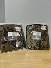 """JCP HOME COLLECTION 2 ROD POCKET PANEL PANELS 50""""W X 84""""L  NEW IN PACKAGE $18.99"""