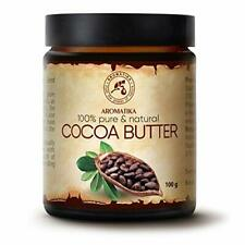Beurre de Cacao 100g - 100% Pur et Naturel  Cheveux  Visage - Corps - Anti Rides