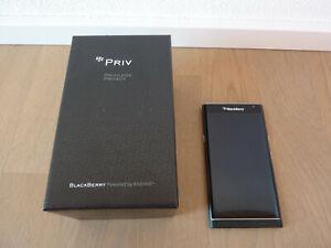 BlackBerry PRIV - 32GB - Schwarz (Ohne Simlock) Smartphone QWERTZ Tastatur Handy