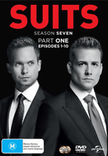 SUITS - SEASON 7 part 1  -  DVD -  Region 2 UK Compatible