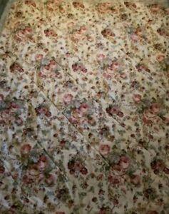 Laura Ashley floral Reversible comforter nice