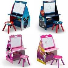 Delta Children Kids Easel Play Station for Arts & Crafts Table & Chair
