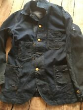 RRL Double RL Ralph Lauren  vintage Jean Jacket Vtg Size s coat raer sample