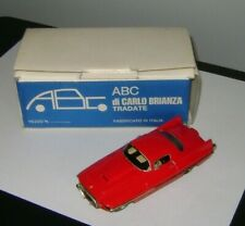 Abc di CARLO Brianza Ferrari Ghia 410  SA 1955 Red 1:43 scale model #19 ITALY