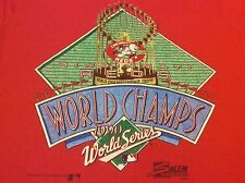 Cincinnati Reds 1990 MLB World Series Champions Vintage Retro Red T-Shirt Large