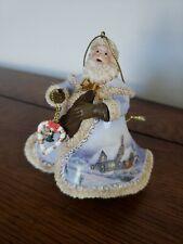 "Thomas Kinkade Old World Santa Ornament ""The Thomas Kinkade Santa"""