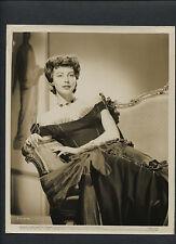 AVA GARDNER IN 1800s DRESS - 1951 MY FORBIDDEN PAST