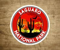"Saguaro National Park Vinyl Decal Sticker 3"" x 3"" Arizona Cactus"