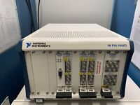 National Instruments NI PXI-1042Q Mainframe w/ PXI-2599 (X3), PXI-2596, PXI-8331