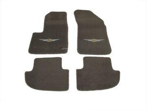 08-10 CHRYSLER SEBRING CONVERTIBLE CARPET FLOOR MATS SET OF 4 NEW MOPAR GENUINE