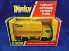 Dinky toys 383 Convoy National Carriers truck in Yellow