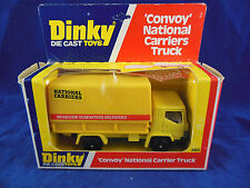 Dinky toys 383 'Convoy' National Carriers truck in Yellow